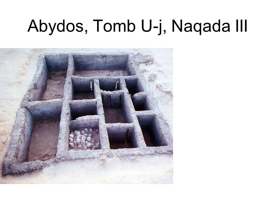 Abydos, Tomb U-j, Naqada III
