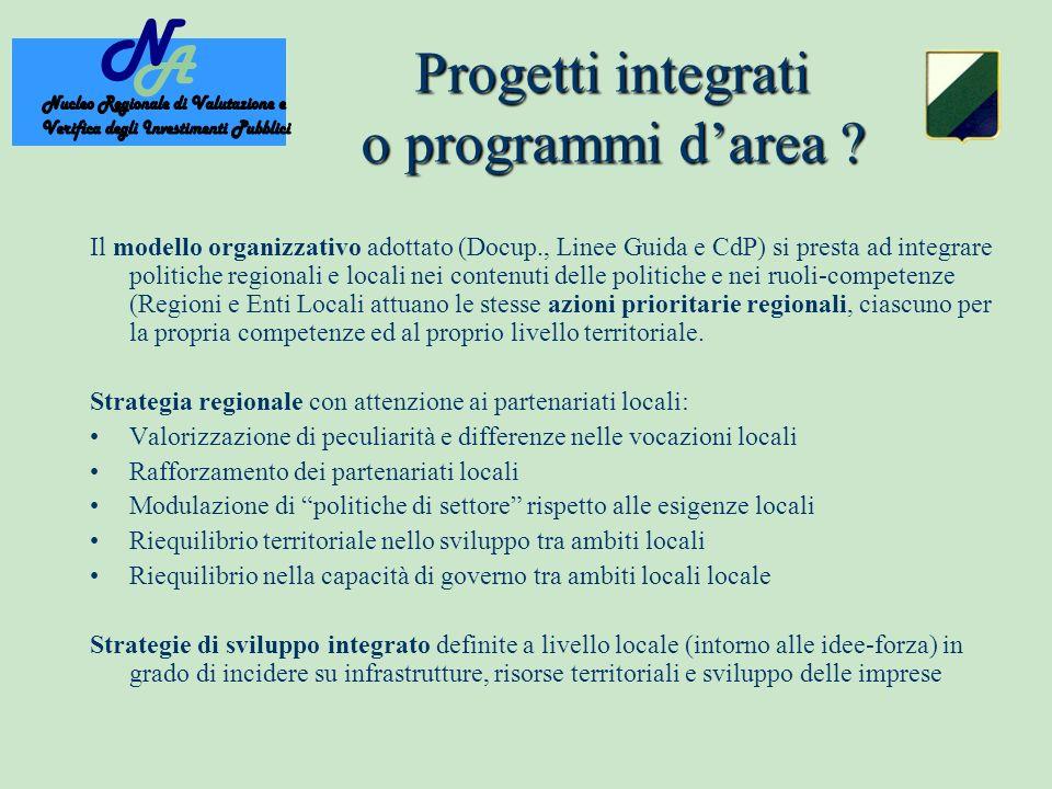 Progetti integrati o programmi darea .