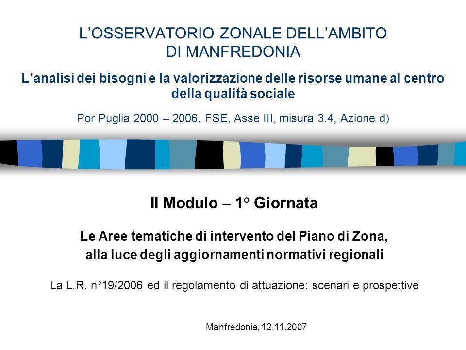 Gli ALTRI SOGGETTI (L.R.19/06 – artt. 4/19/20/21) Art.