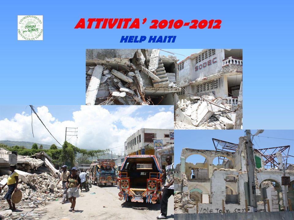 ATTIVITA 2010-2012 HELP HAITI