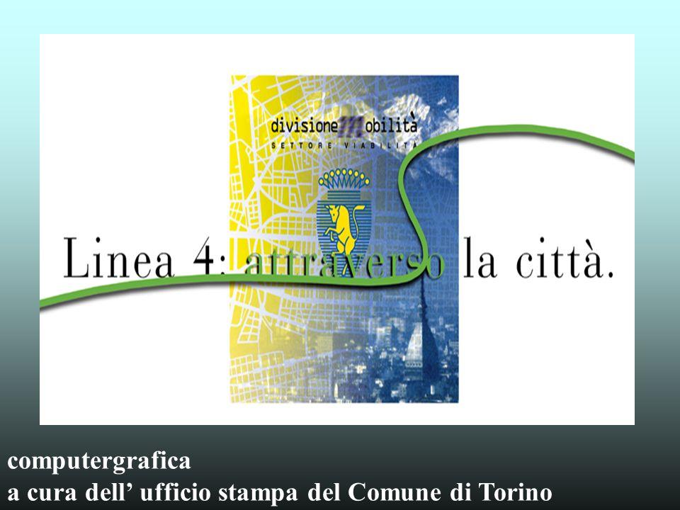 computergrafica a cura dell ufficio stampa del Comune di Torino