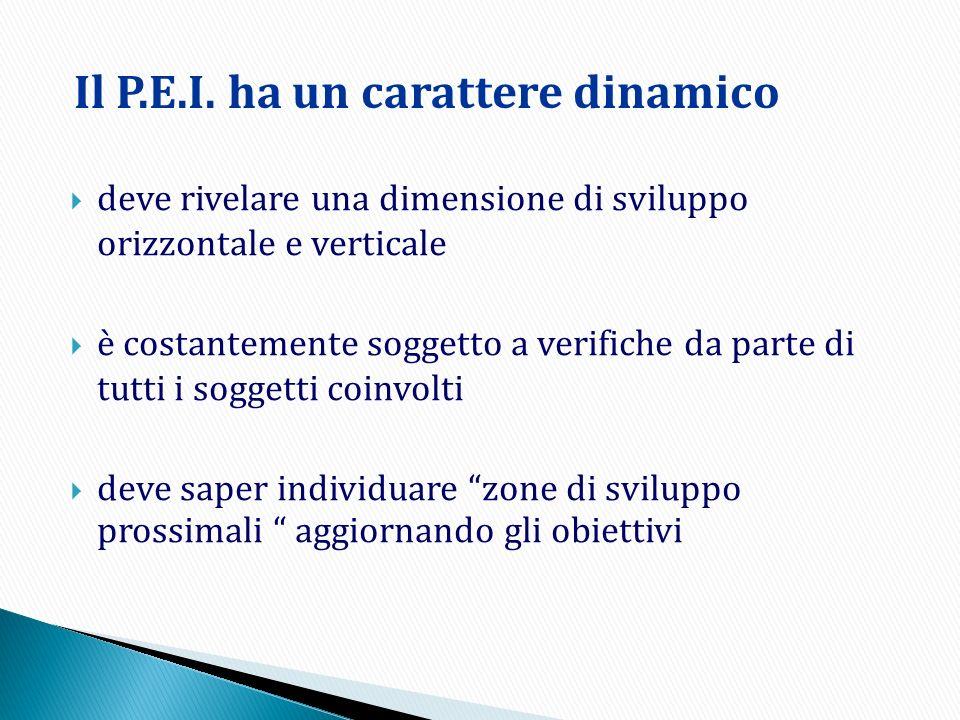 La struttura del P.E.I.