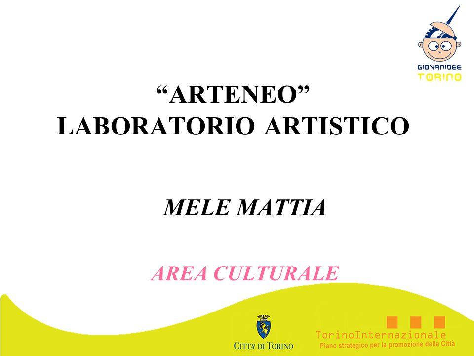 ARTENEO LABORATORIO ARTISTICO MELE MATTIA AREA CULTURALE