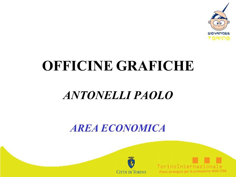 OFFICINE GRAFICHE ANTONELLI PAOLO AREA ECONOMICA