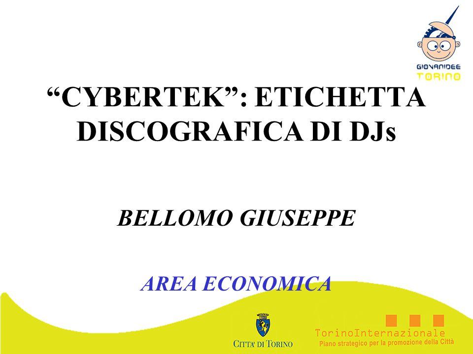 CYBERTEK: ETICHETTA DISCOGRAFICA DI DJs BELLOMO GIUSEPPE AREA ECONOMICA
