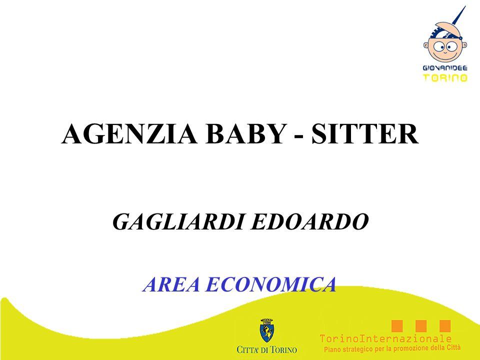AGENZIA BABY - SITTER GAGLIARDI EDOARDO AREA ECONOMICA