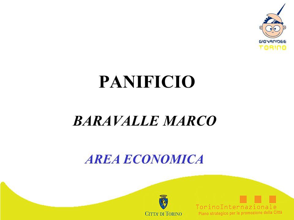 PANIFICIO BARAVALLE MARCO AREA ECONOMICA