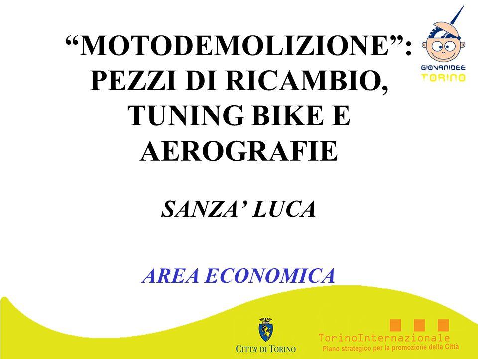 MOTODEMOLIZIONE: PEZZI DI RICAMBIO, TUNING BIKE E AEROGRAFIE SANZA LUCA AREA ECONOMICA