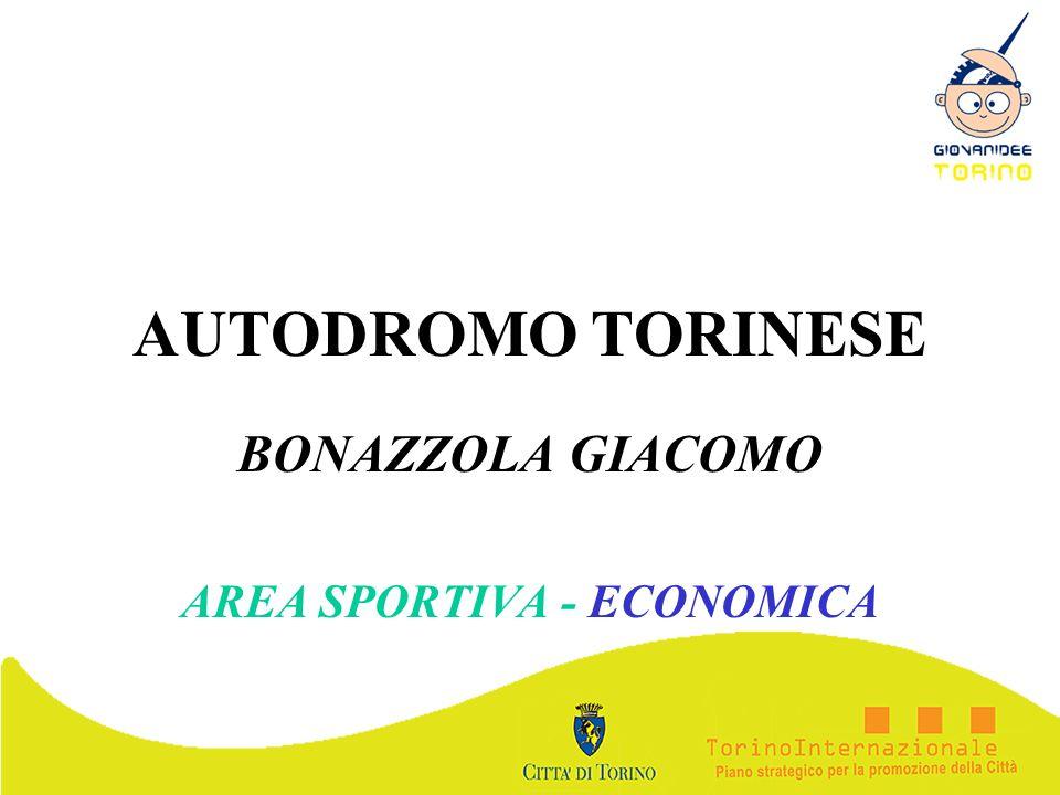 AUTODROMO TORINESE BONAZZOLA GIACOMO AREA SPORTIVA - ECONOMICA