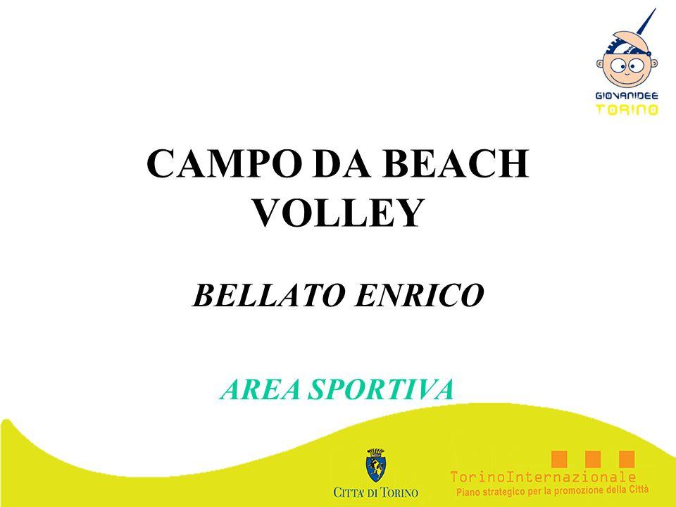 CAMPO DA BEACH VOLLEY BELLATO ENRICO AREA SPORTIVA