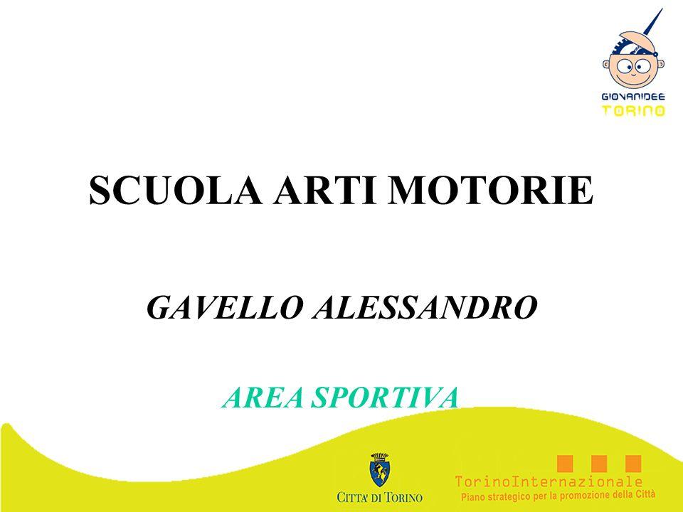 SCUOLA ARTI MOTORIE GAVELLO ALESSANDRO AREA SPORTIVA