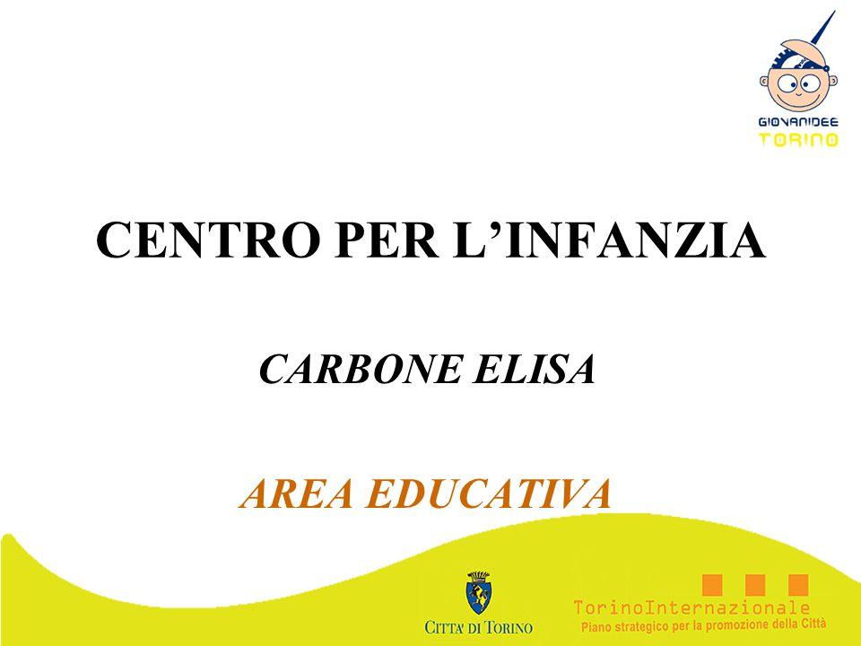 CENTRO PER LINFANZIA CARBONE ELISA AREA EDUCATIVA