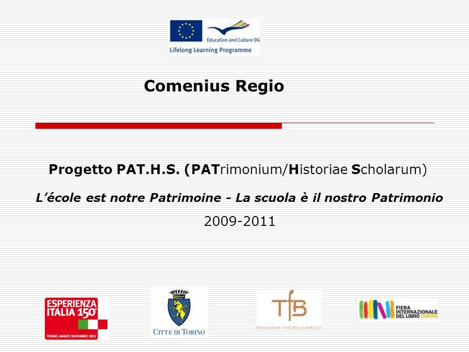 Comenius Regio Progetto PAT.H.S.