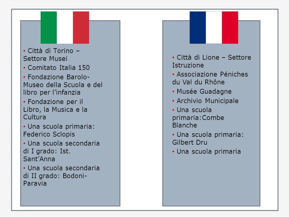 Chi? Città di Torino – Settore Musei Comitato Italia 150 Fondazione Barolo- Museo della Scuola e del libro per linfanzia Fondazione per il Libro, la M