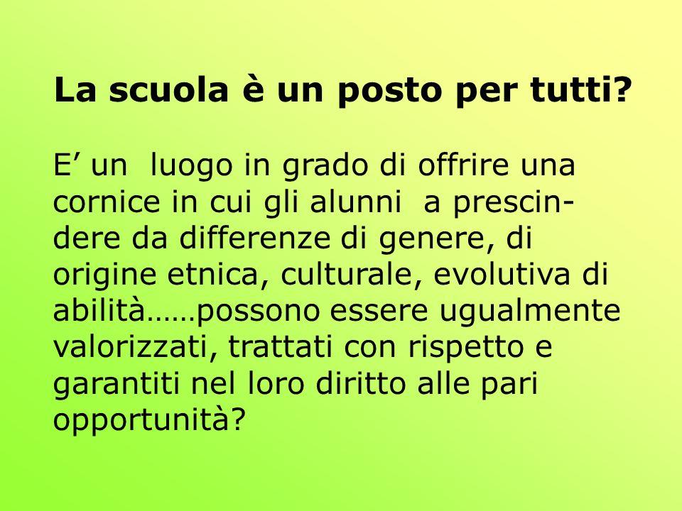 Lesperienza italiana: L integrazione scolastica Legge 118 (1971) riconosce per la prima volta il diritto allistruzione.
