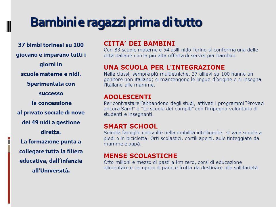 Torino universitaria Due Univesità di eccellenza.