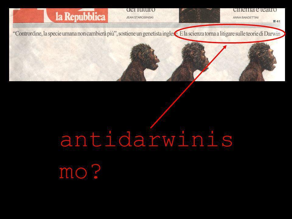 antidarwinis mo?
