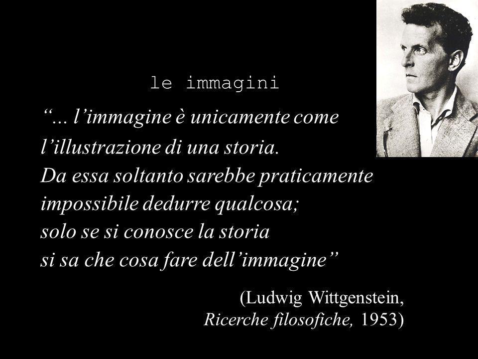 le immagini... limmagine è unicamente come lillustrazione di una storia.