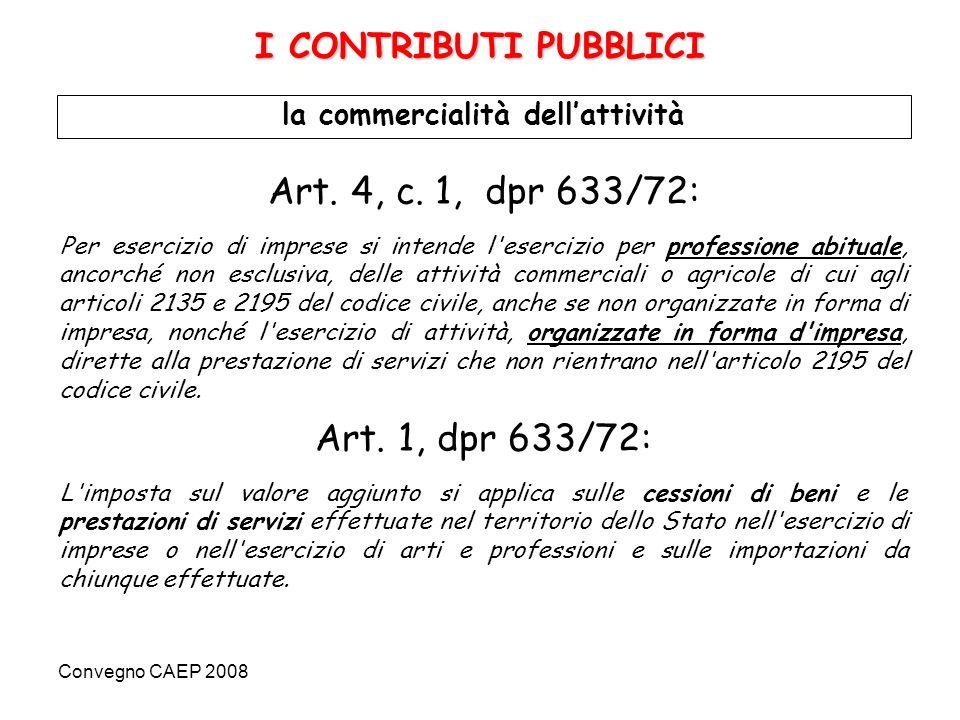 Convegno CAEP 2008 Art.