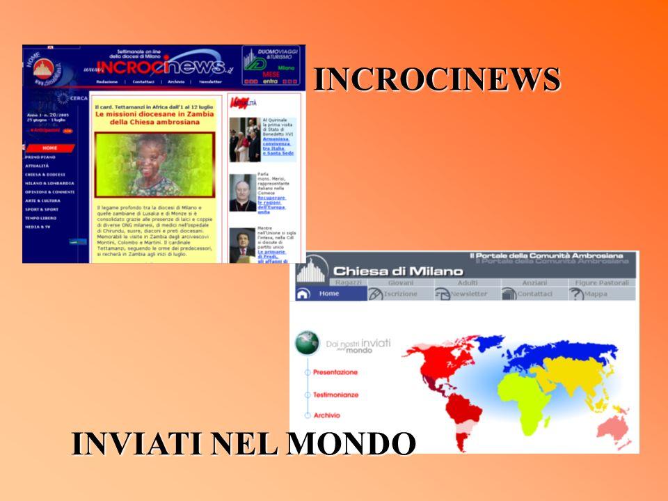 INCROCINEWS INVIATI NEL MONDO