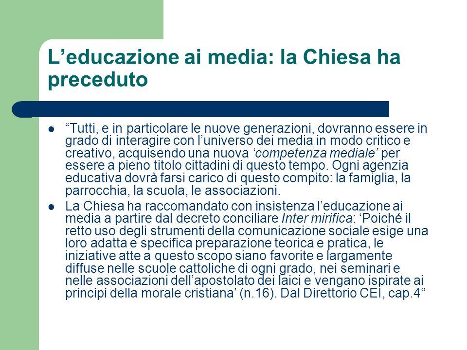 Obiettivi… cittadinanza: la lezione sui media diventa anche laboratorio di democrazia (Cf.