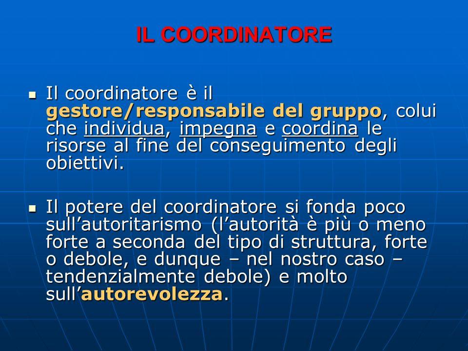 Il Coordinatore della Redazione Chi è? Chi è? Quali sono le sue competenze? Quali sono le sue competenze? Che ruolo ha nel gruppo? Che ruolo ha nel gr