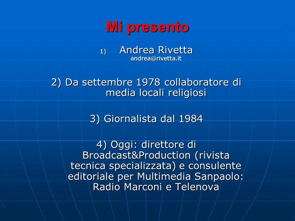 Corso per Operatori Pastorali della Comunicazione Milano, 1 Marzo 2008 Una Comunità nel Giornale: la Redazione