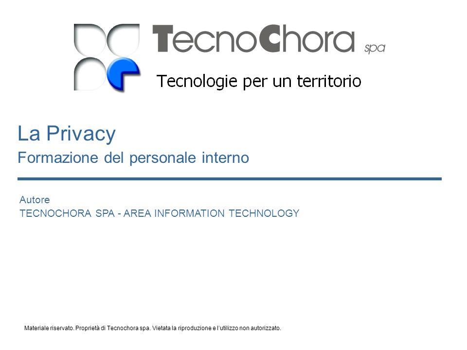 2 Privacy: che significa .