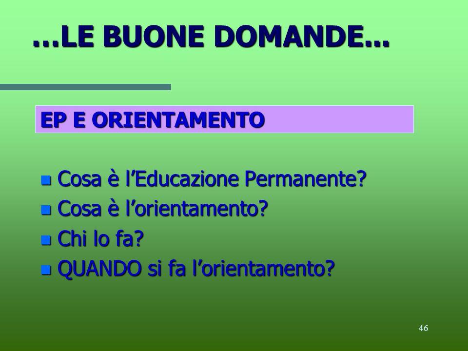 45 4 Educazione permanente e orientamento