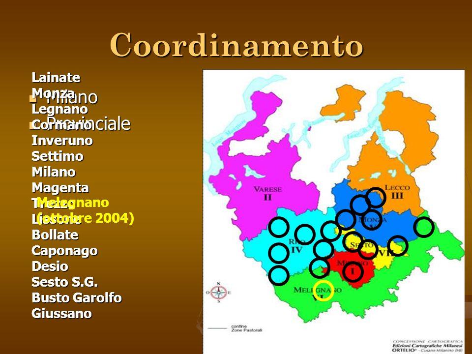 Coordinamento Milano Provinciale LainateMonzaLegnanoCormanoInverunoSettimoMilanoMagentaTrezzoLissoneBollateCaponagoDesio Sesto S.G.
