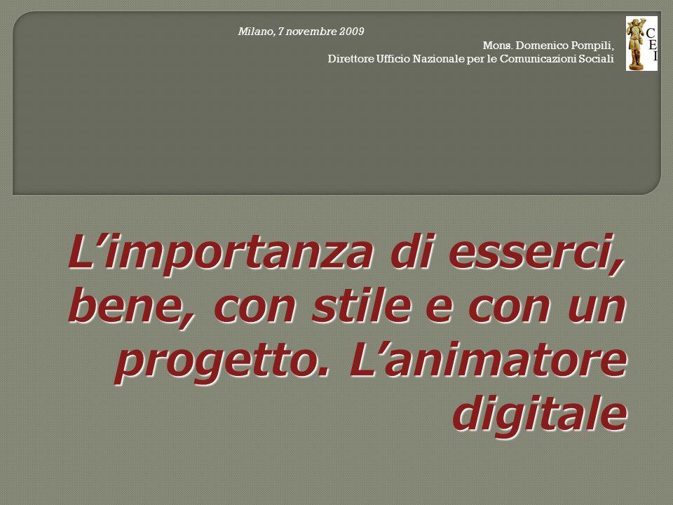 Milano, 7 novembre 2009 Mons.