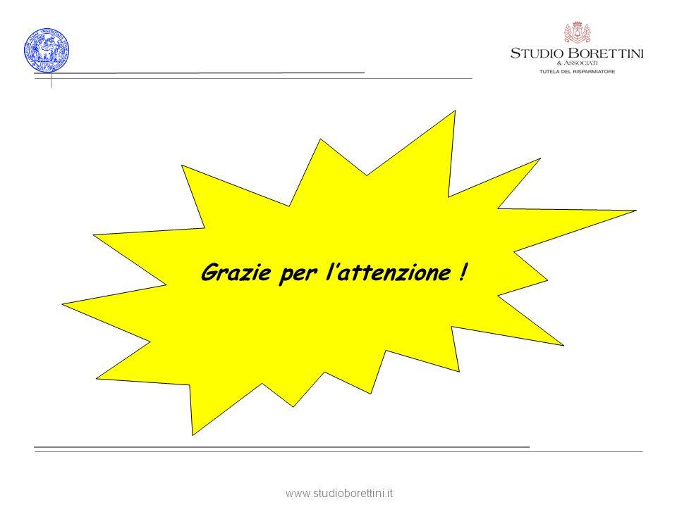www.studioborettini.it Grazie per lattenzione !