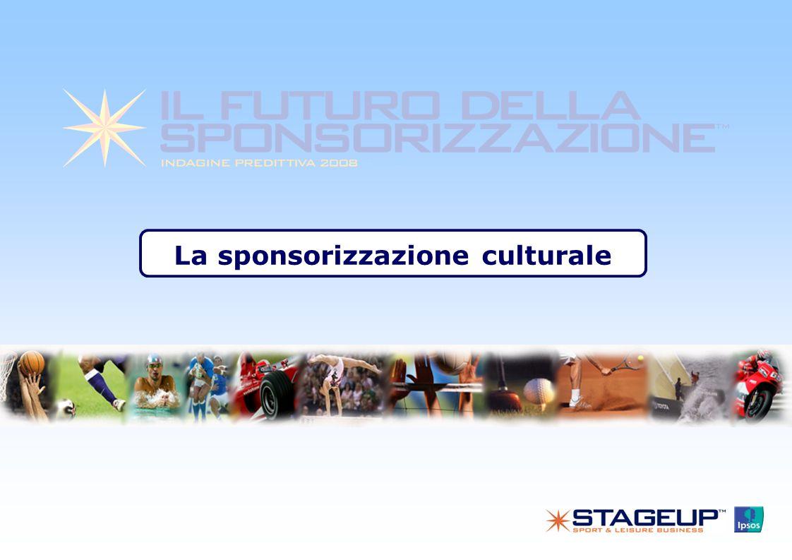 La sponsorizzazione culturale