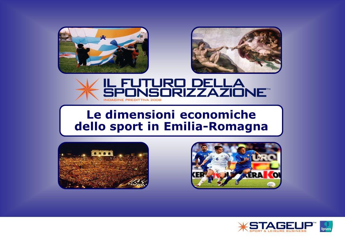 Le dimensioni economiche dello sport in Emilia-Romagna