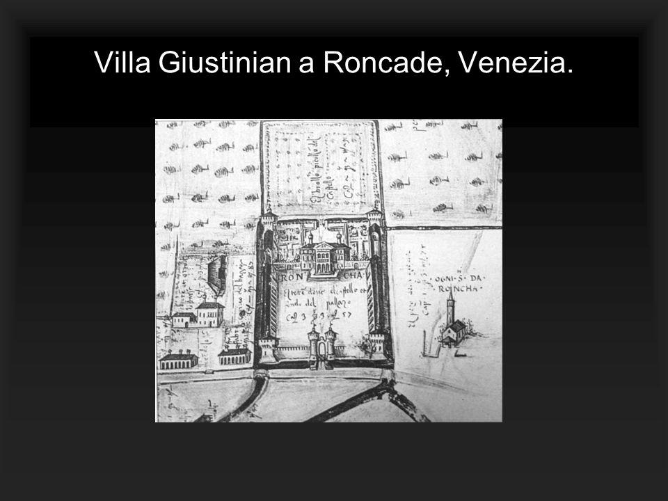 Villa Giustinian a Roncade, Venezia.