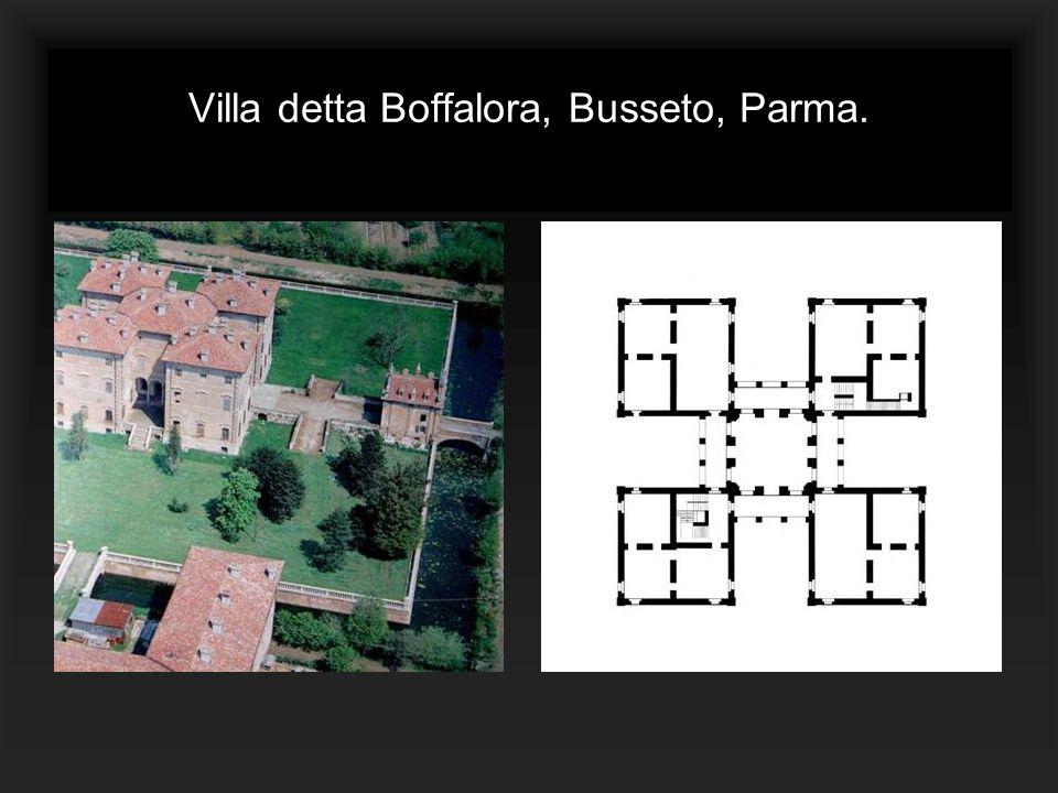 Villa detta Boffalora, Busseto, Parma.