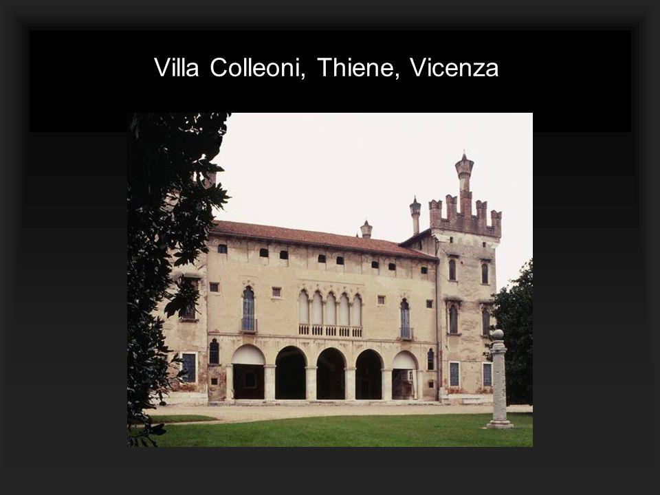Villa Colleoni, Thiene, Vicenza.