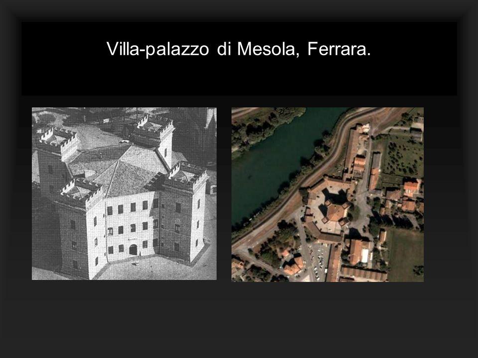 Villa-palazzo di Mesola, Ferrara.