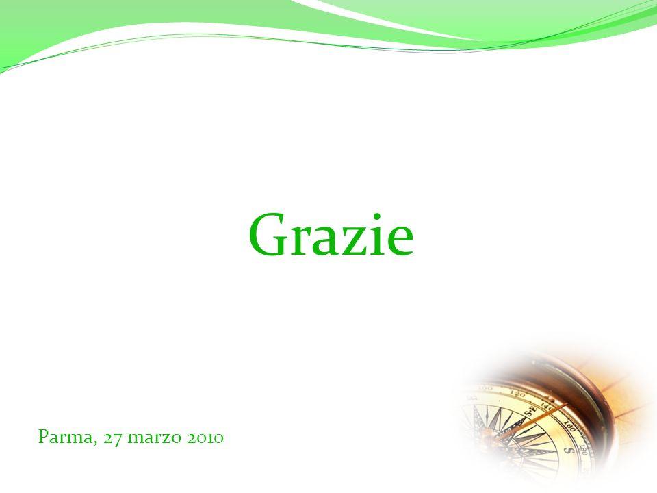 Parma, 27 marzo 2010 Grazie