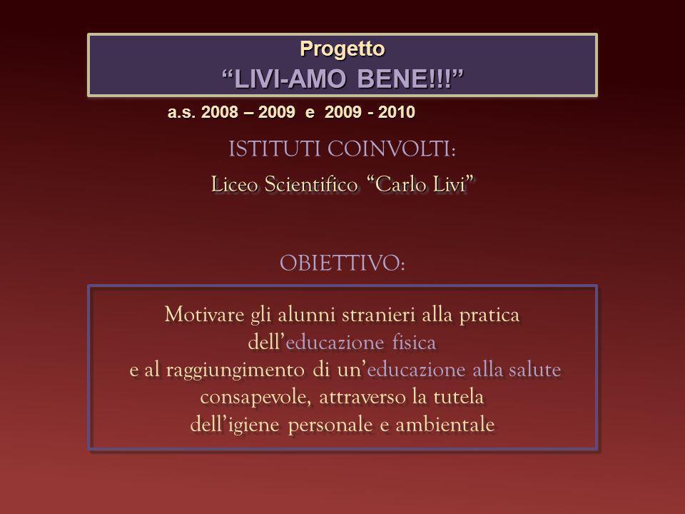 Progetto LIVI-AMO BENE!!.
