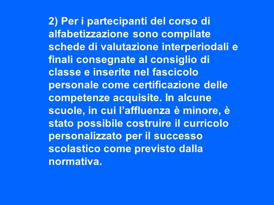 3) Attività di potenziamento per lapprendimento dei linguaggi disciplinari e trasversali, sia in forma di corso che di sportello.