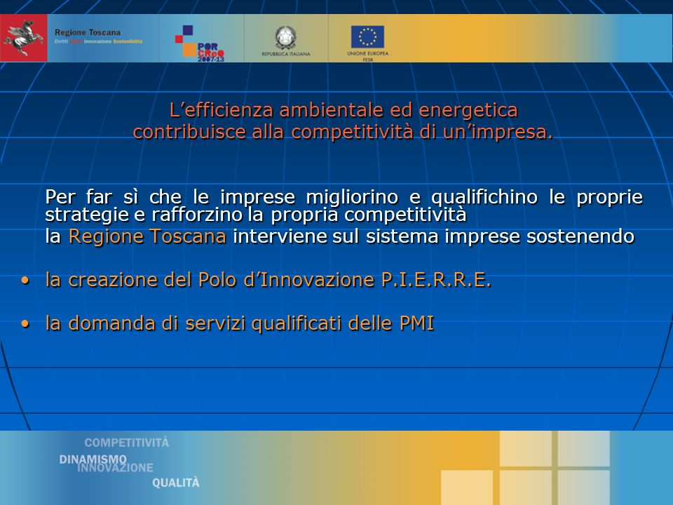 4 Ai sensi della Disciplina comunitaria in materia di Aiuto di Stato a favore di Ricerca, Sviluppo e Innovazione (2006/C 323/01).