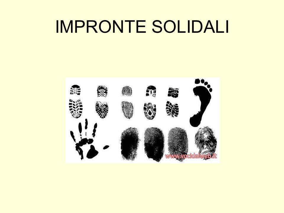 Il video Impronte solidali realizzato nellanno scolastico 2006/7 allistituto Gramsci-Keynes permette di incrementare la conoscenza dei giovani su diverse realta di volontariato presenti nel territorio pratese.