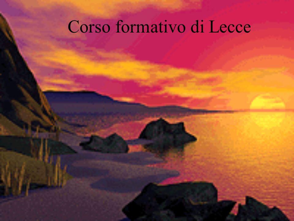 Corso formativo di Lecce