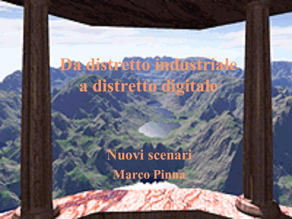 Da distretto industriale a distretto digitale Nuovi scenari Marco Pinna