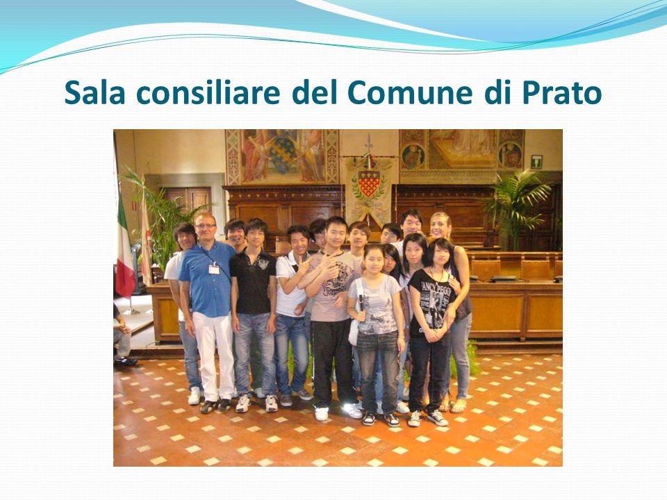 Sala consiliare del Comune di Prato