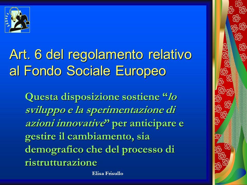 Elisa Frisullo COME REPERIRE I FONDI FINANZIARI PER SVECCHIARE LIMPRESA.