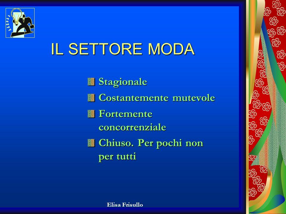 Elisa Frisullo ANALISI DELLA SITUAZIONE DI PARTENZA: AMBIENTE ESTERNO (2/2): Forte dipendenza dai fornitori Salento: tacco dItalia.