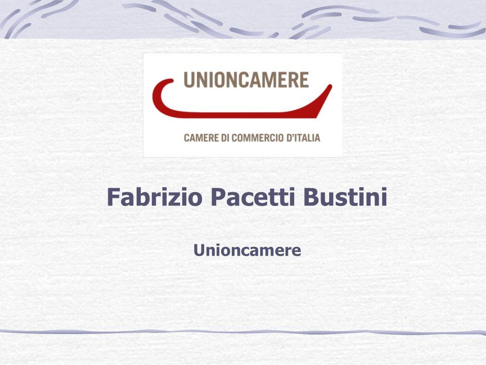 Fabrizio Pacetti Bustini Unioncamere