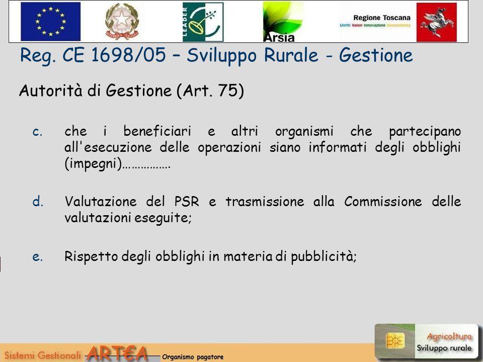 Autorità di Gestione (Art.